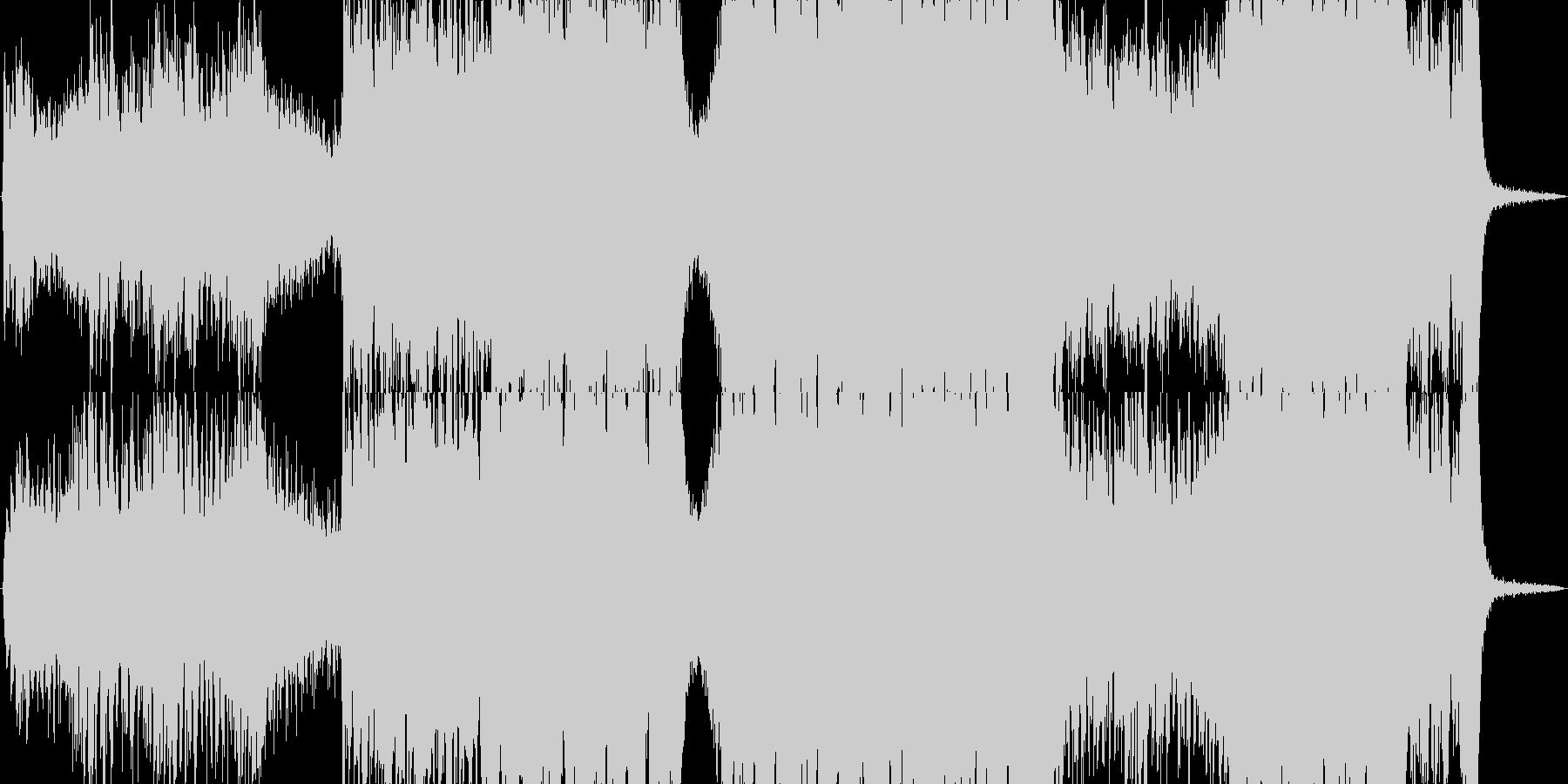 【コーラス無し・ドラム無し】エピ…怒りの未再生の波形