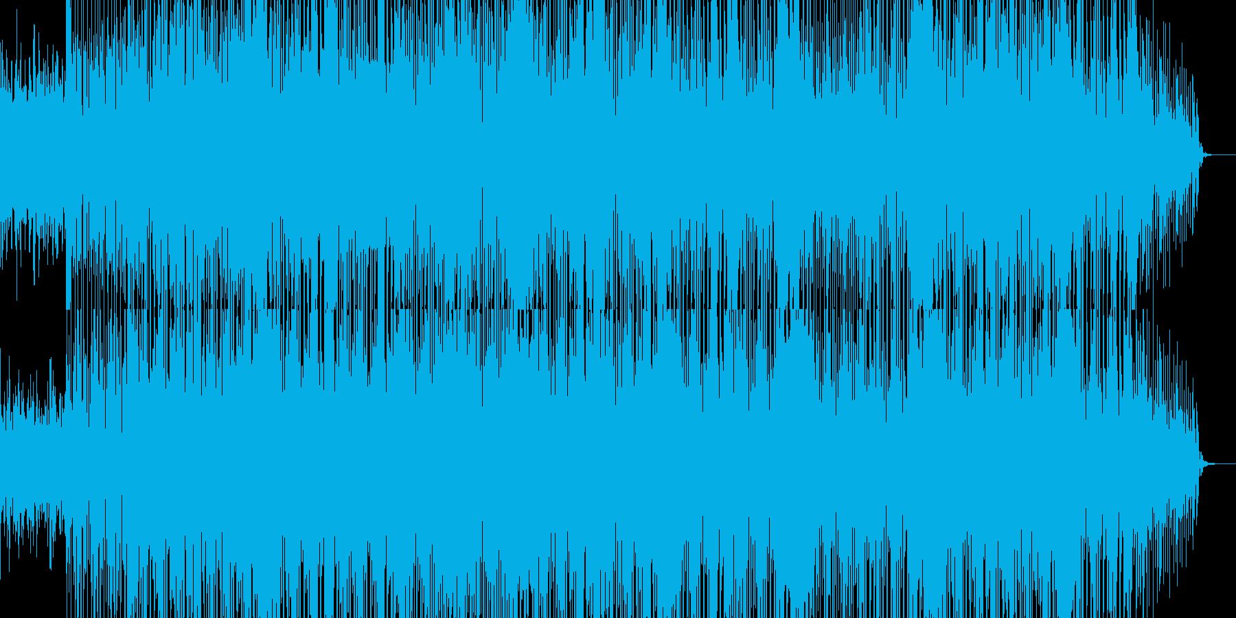 癒される感じのダンスBGMの再生済みの波形