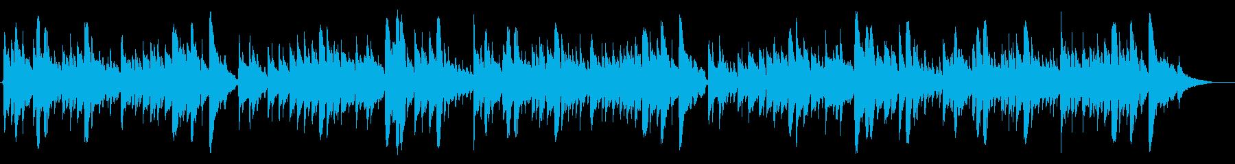 童謡 七つの子 カラスなぜ鳴くの アコギの再生済みの波形