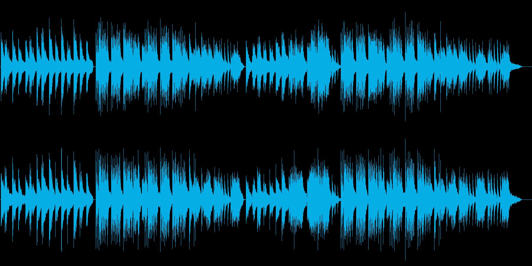 儚いイメージのピアノソロの再生済みの波形