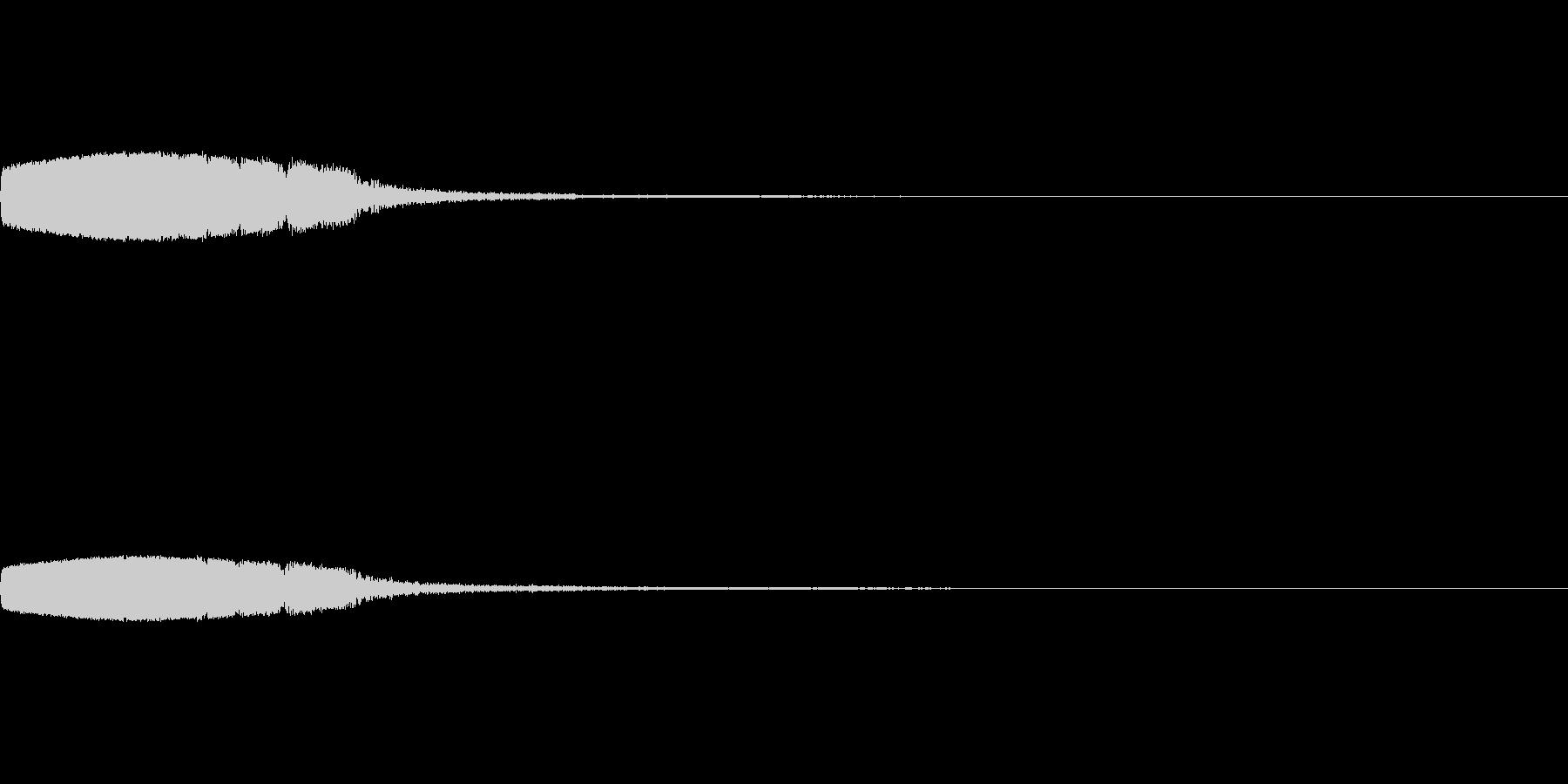 【SE 効果音】SF的な音14の未再生の波形