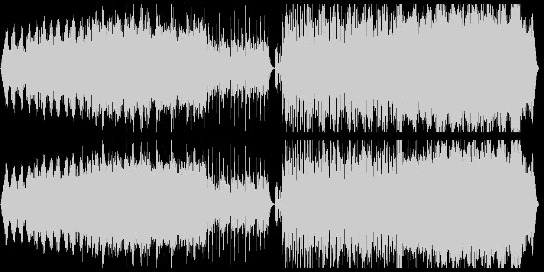 ジャパニーズホラー,サスペンス風切ないの未再生の波形