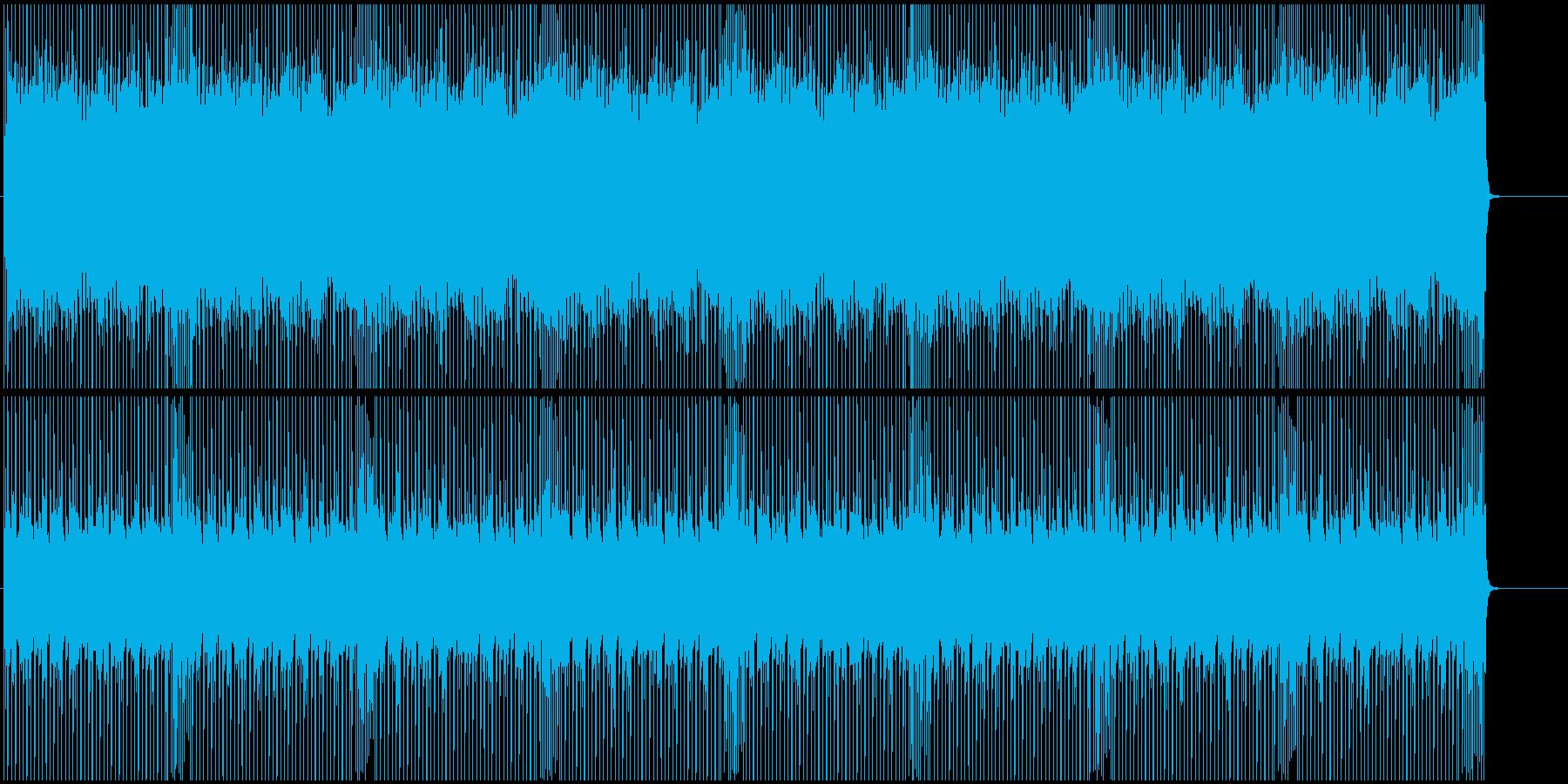 あえてシンプルなBGM用ロックンロールの再生済みの波形