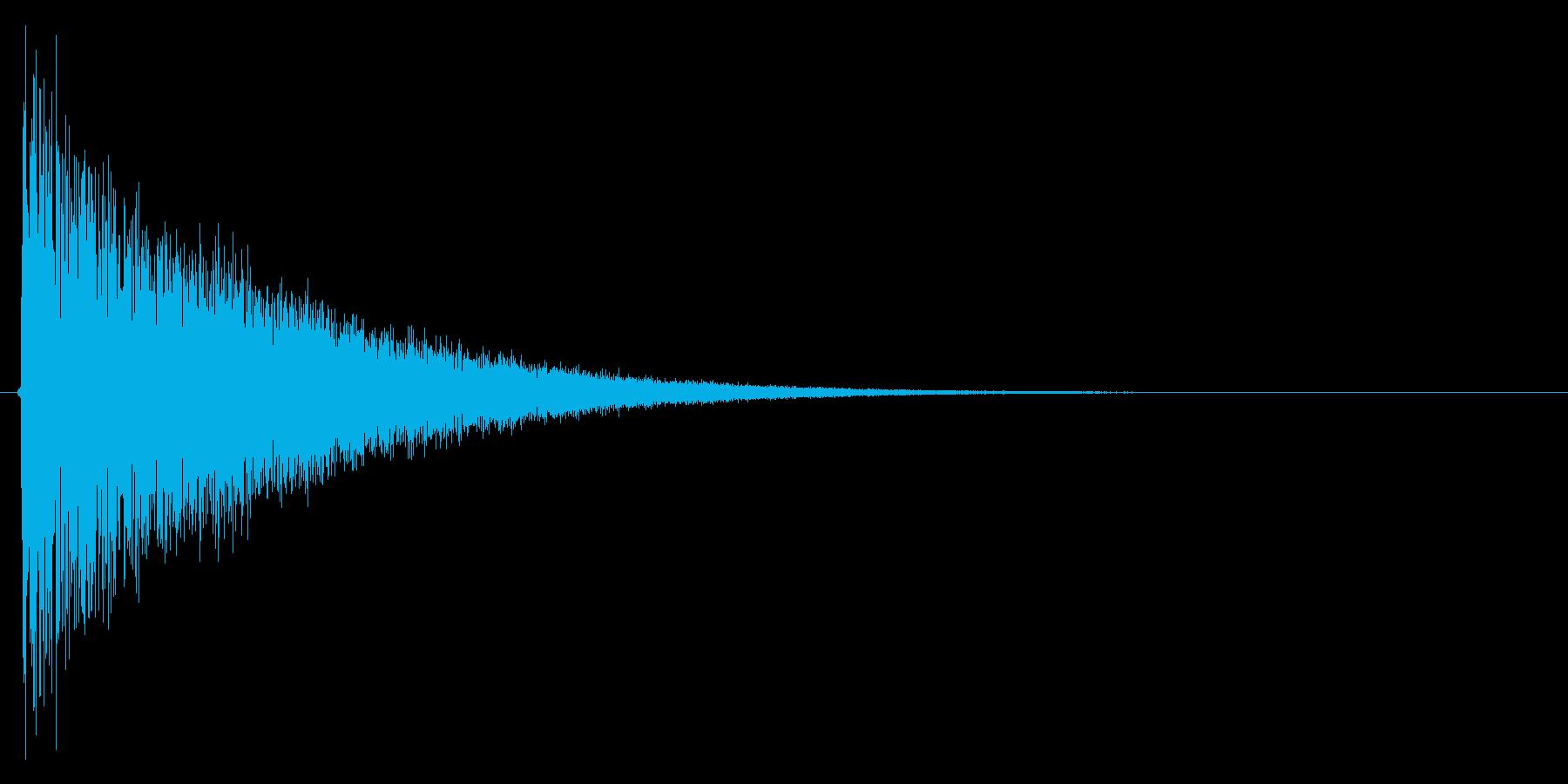 シュイーン!(消滅、風、スライディング)の再生済みの波形