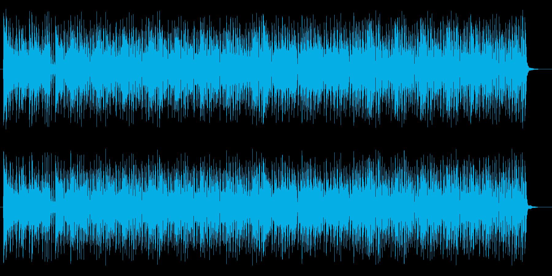 ポップで楽しくリズミカルな木琴ポップスの再生済みの波形