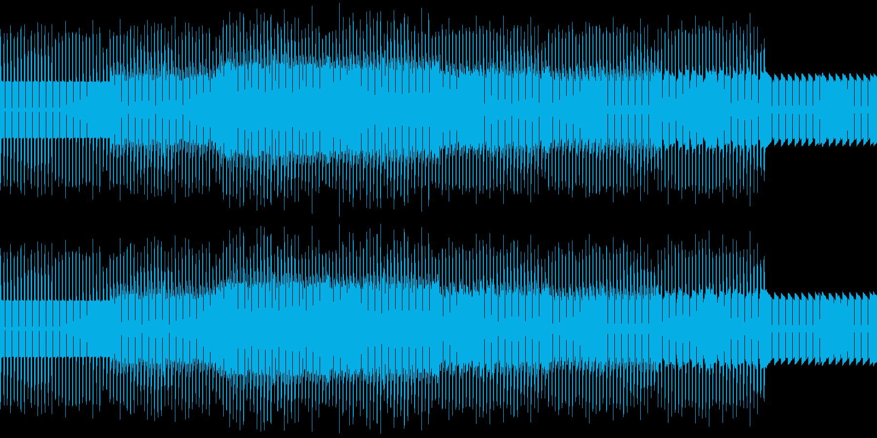 痛快なチップチューン、ループ対応の再生済みの波形