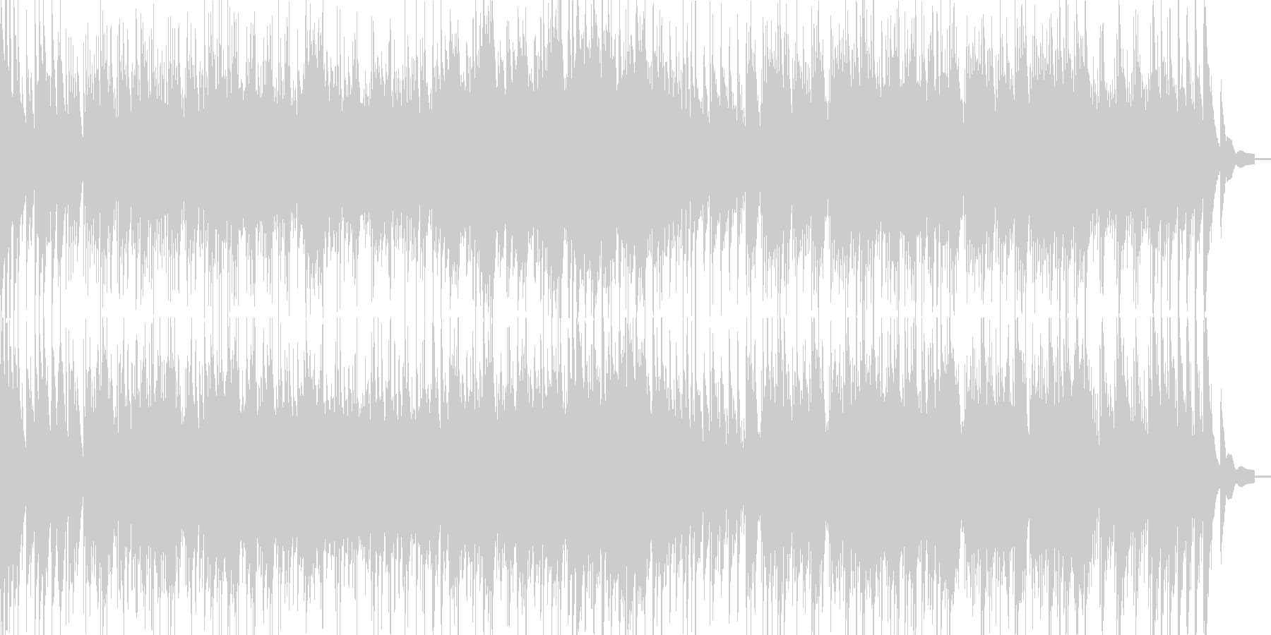 和風琴第九ベートーベンの琴曲の未再生の波形