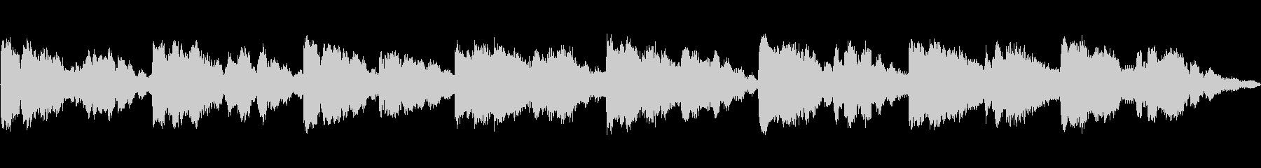 不協和音的な響き、チャイムの未再生の波形