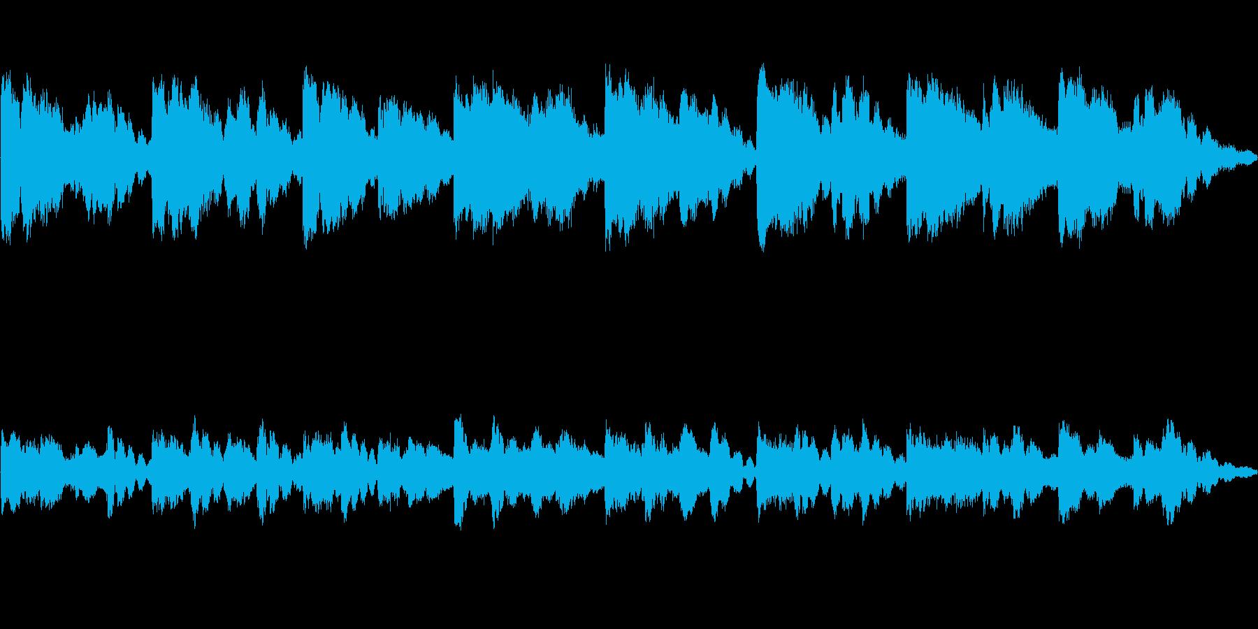 不協和音的な響き、チャイムの再生済みの波形
