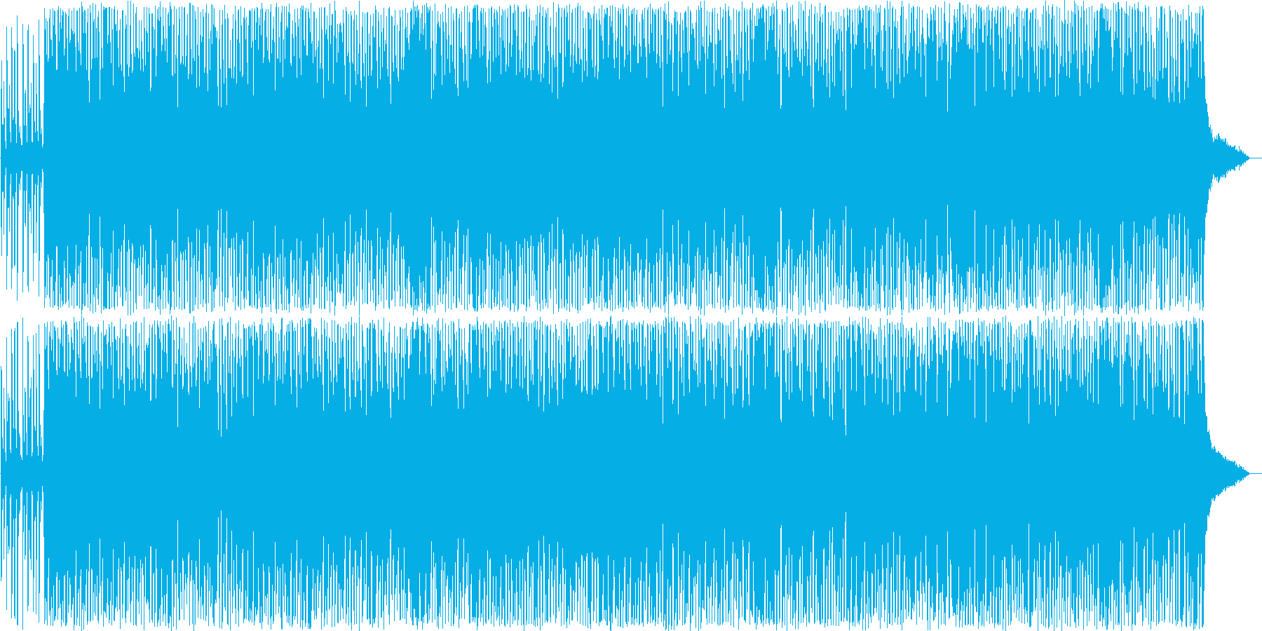 軽快なバンジョーが特徴的なカントリーの再生済みの波形