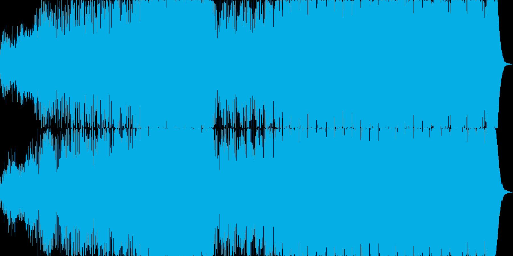 近未来感溢れるトランス/エレクトロニカの再生済みの波形