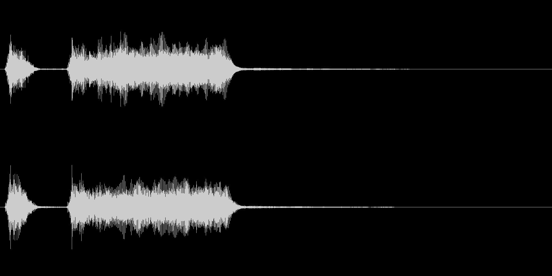 玩具系ファンファーレ-03の未再生の波形