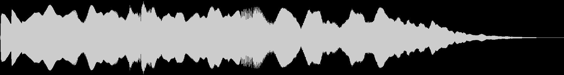 5秒CM、セール、イベント告知、場面転換の未再生の波形