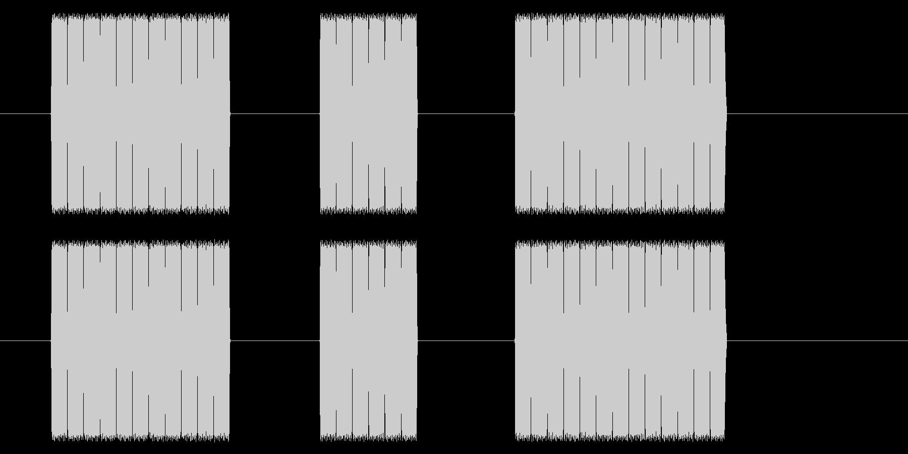 【NES RPG02-10(メッセージ)の未再生の波形