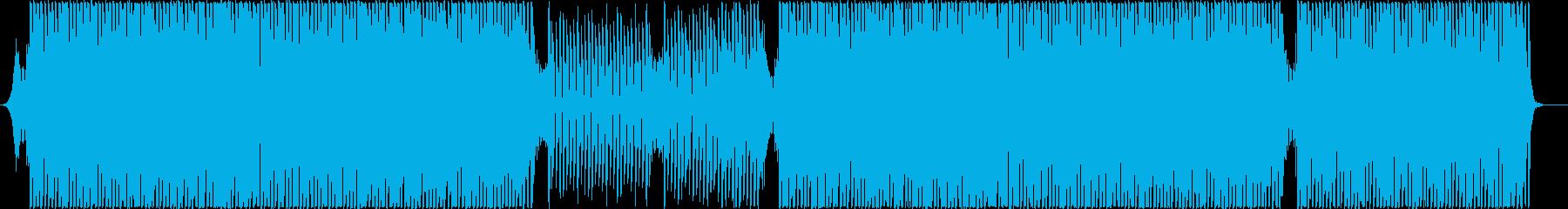 情熱的なグルーヴィーなラテンハウスの再生済みの波形