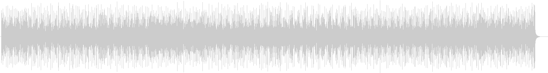 明るくファンタジーなシンセサウンドの未再生の波形