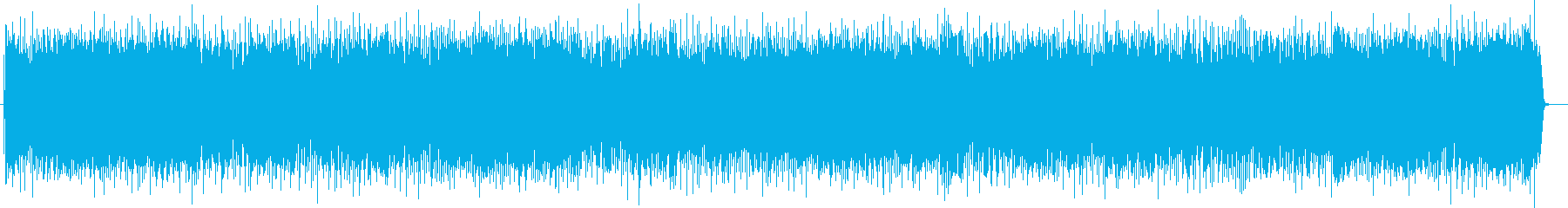 疾走感と躍動感の明るいポップスの再生済みの波形