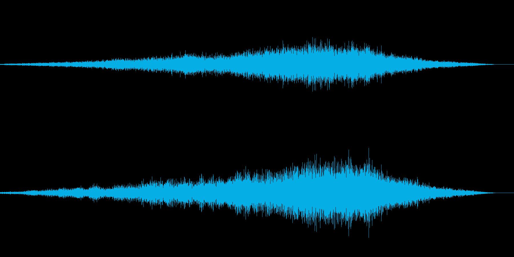50ccのバイク カブのエンジン音 04の再生済みの波形