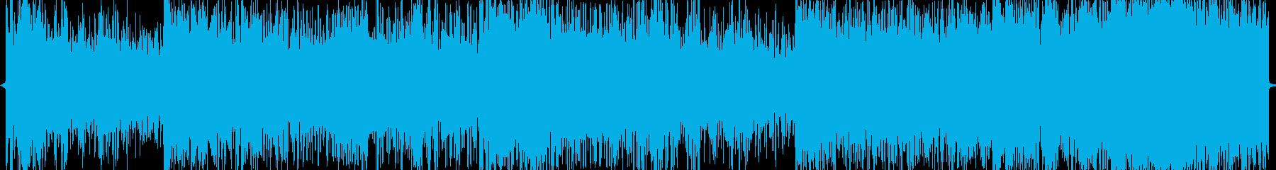 ロック_淡々の再生済みの波形