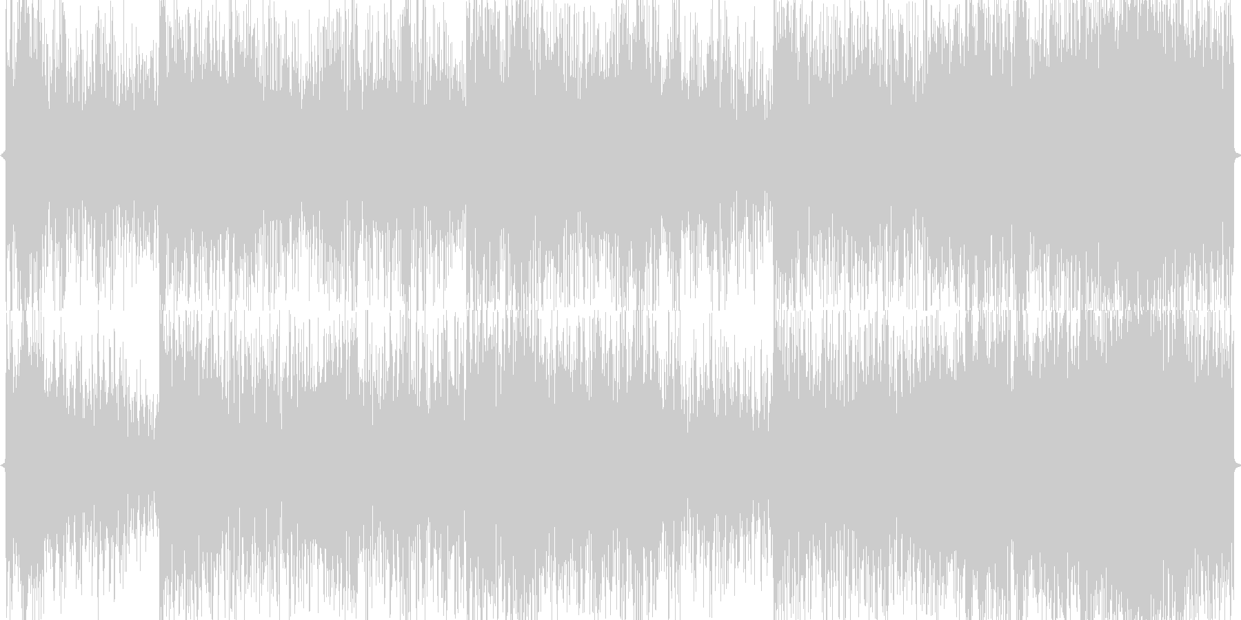 ロック_淡々の未再生の波形