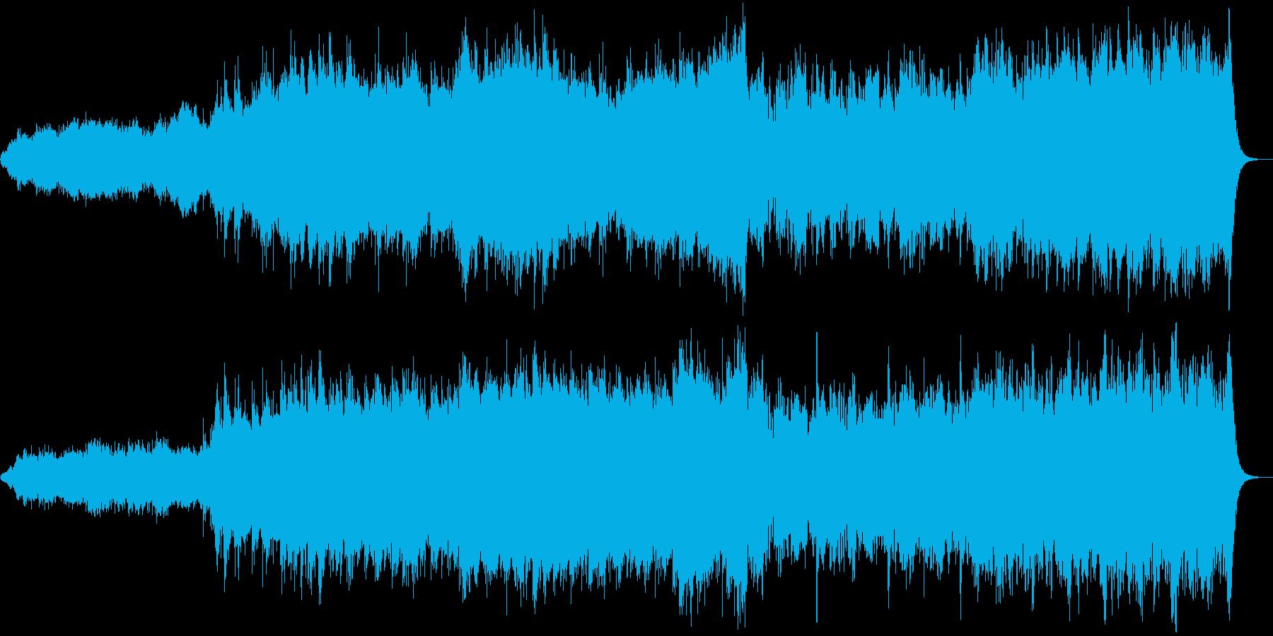 クラシックフュージョン系の再生済みの波形