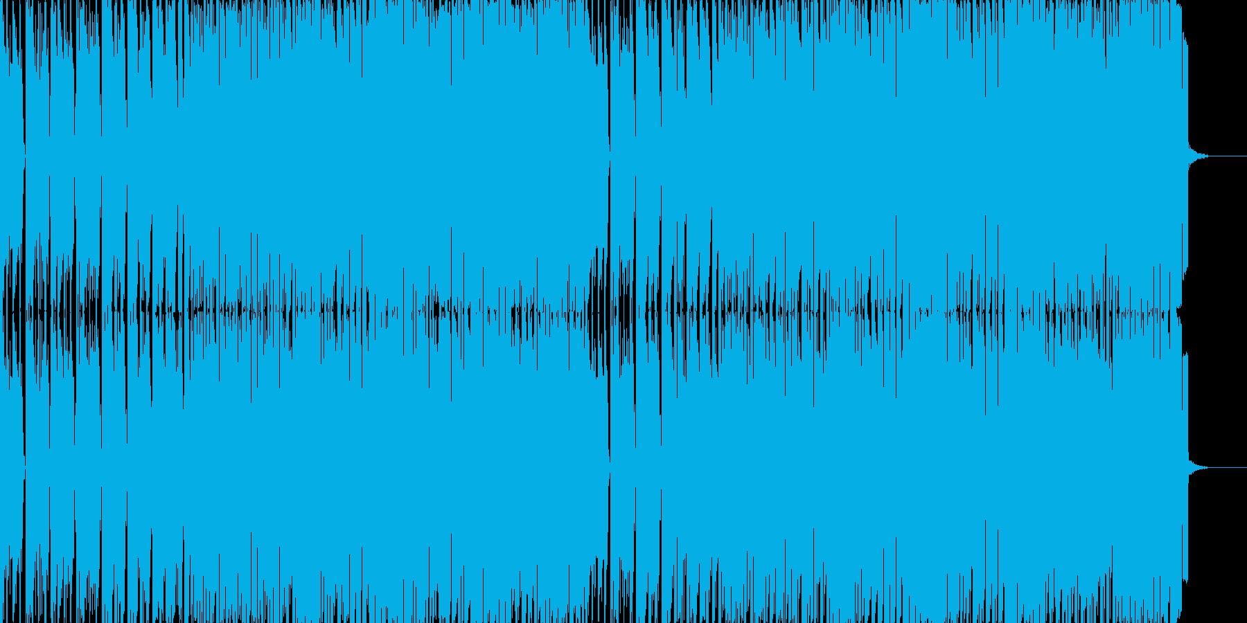 「威風堂々」テクノポップリミックスの再生済みの波形