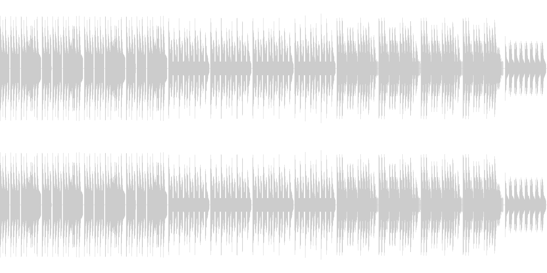 ダンディ、クールなレトロゲーム風バラードの未再生の波形
