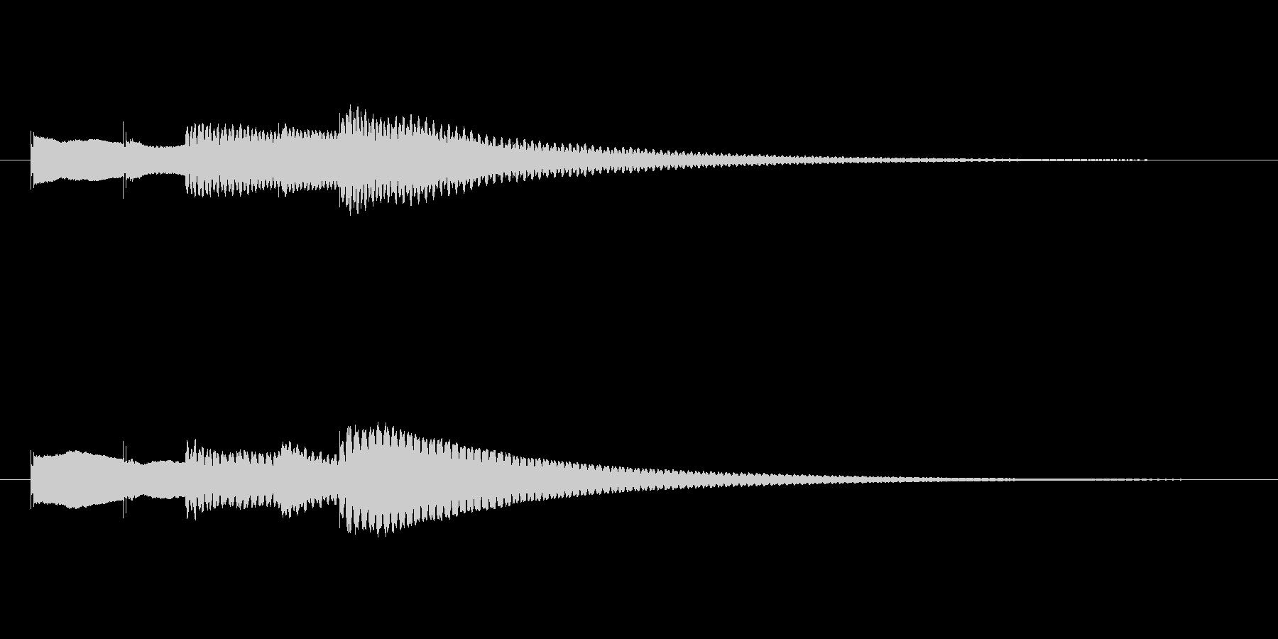 テーテ トート テンの未再生の波形
