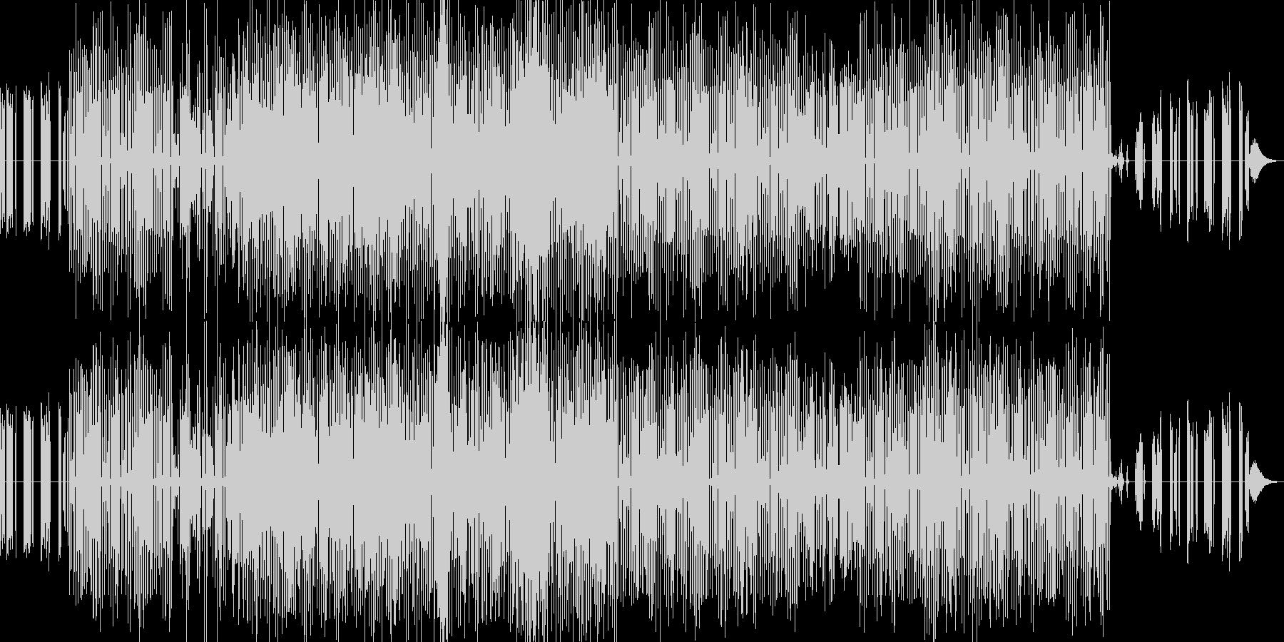 和風インダストリアルBGMです。の未再生の波形