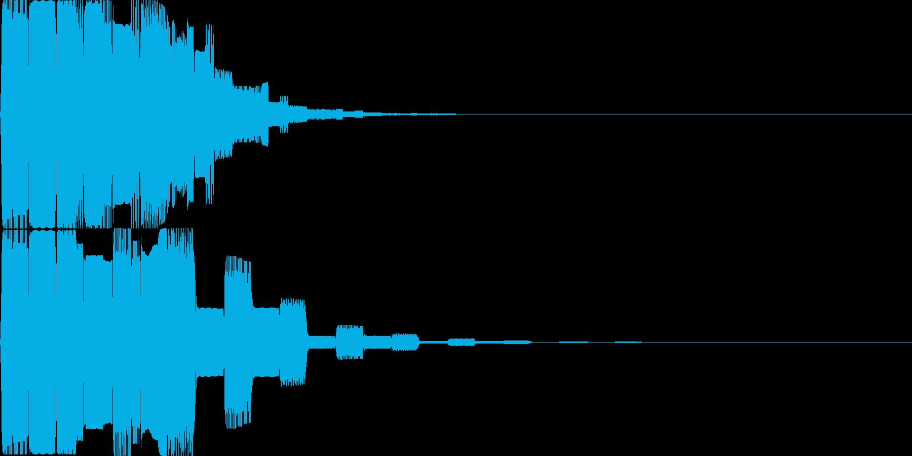 汎用決定ボタン - 6の再生済みの波形