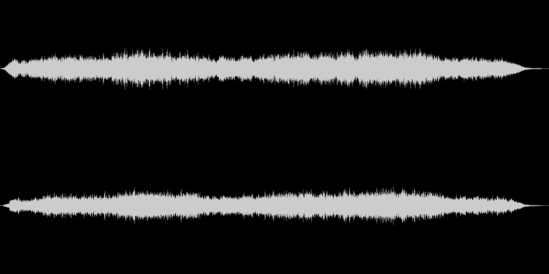 シンセパッドによる幻想的なジングル3の未再生の波形
