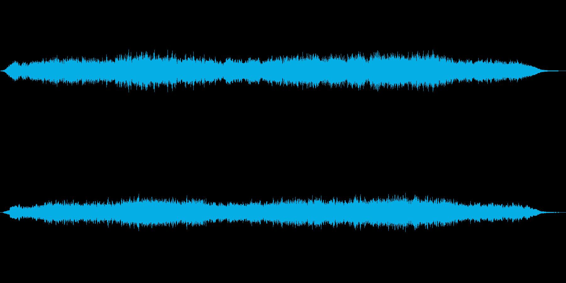 シンセパッドによる幻想的なジングル3の再生済みの波形