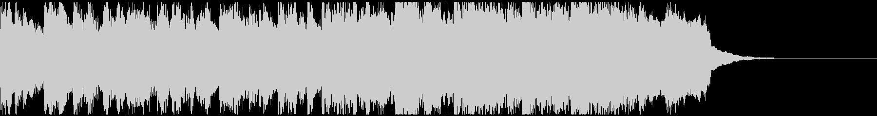サックスジャズ風ジングル/ラジオの未再生の波形