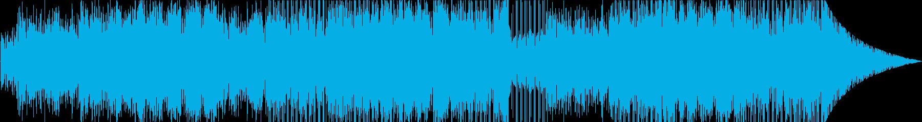 柔らかい声が光るボサノバの再生済みの波形