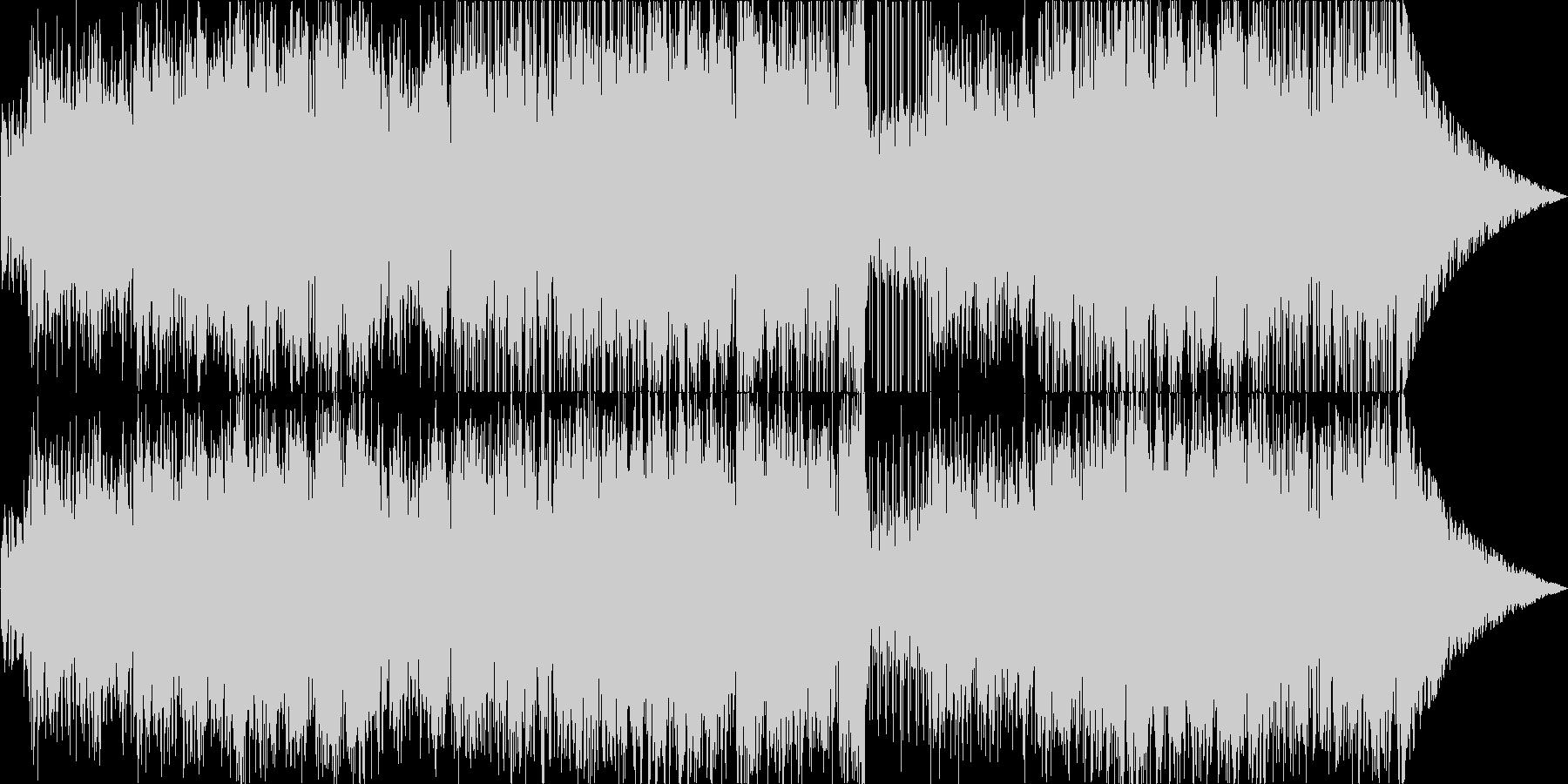 柔らかい声が光るボサノバの未再生の波形