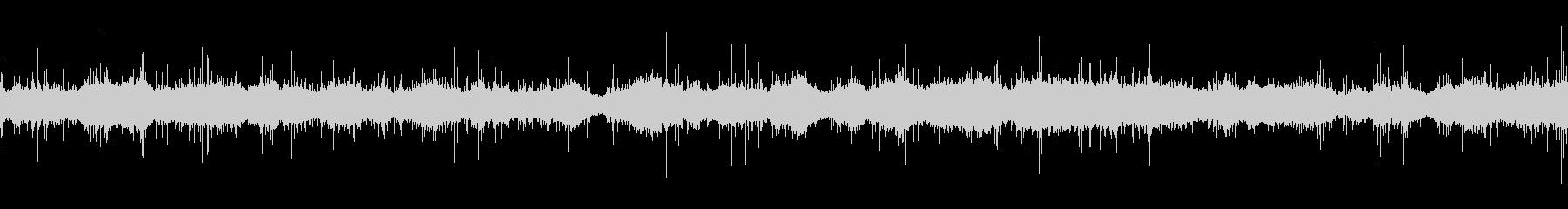 ムードノイズ「サラサラ…」2の未再生の波形