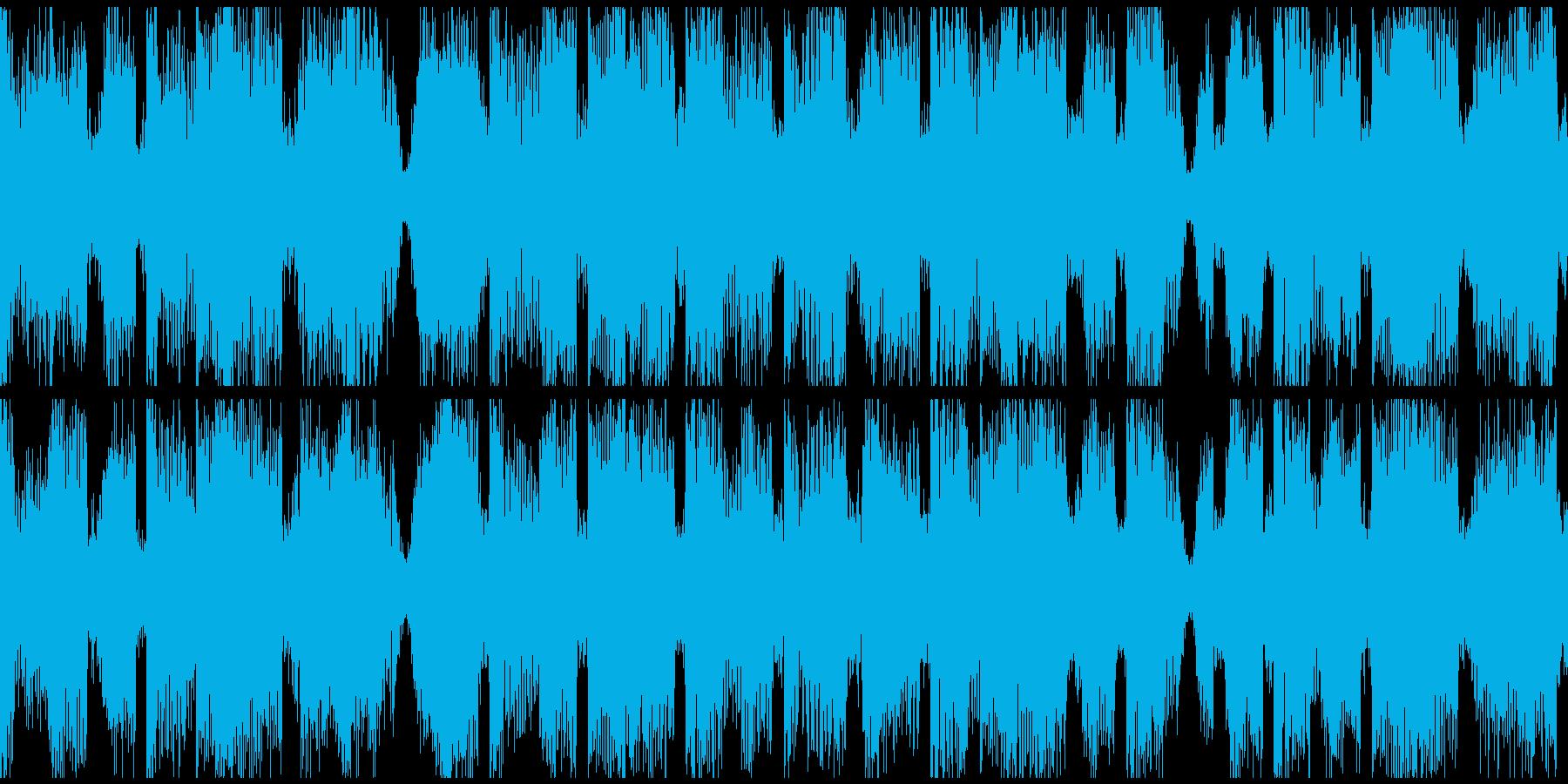 Brostep_bpm140Loopの再生済みの波形