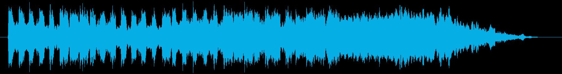 メロトロン音源をを使用した幻想的なナン…の再生済みの波形