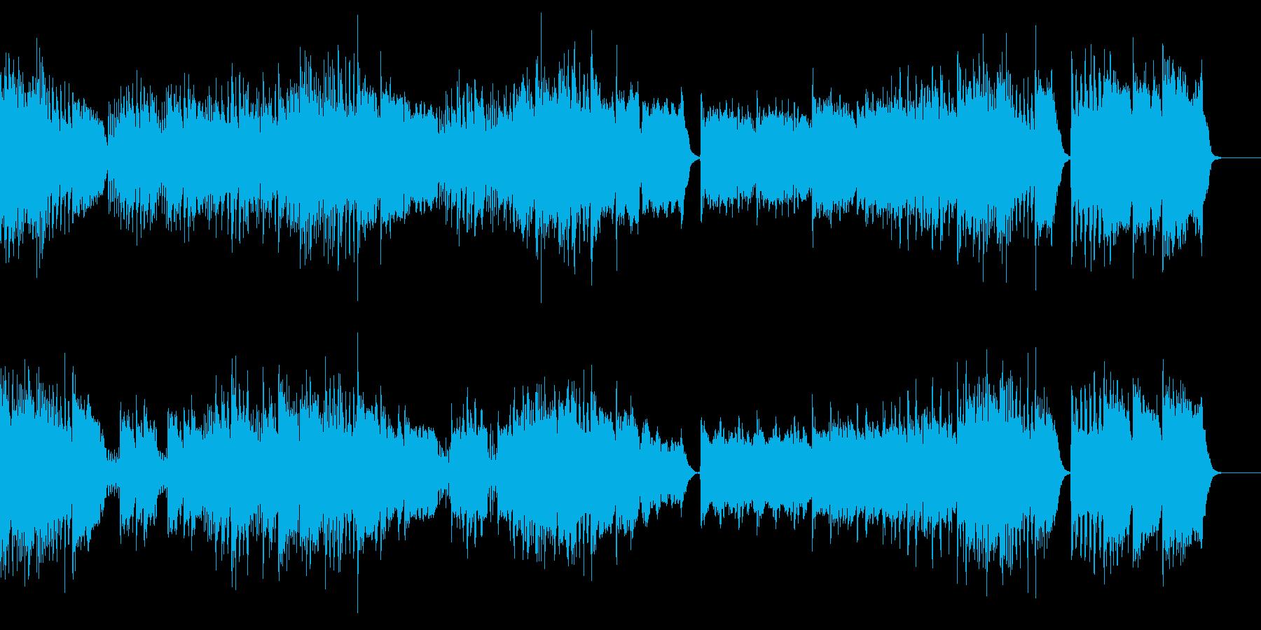 ラ・ペリのファンファーレの再生済みの波形