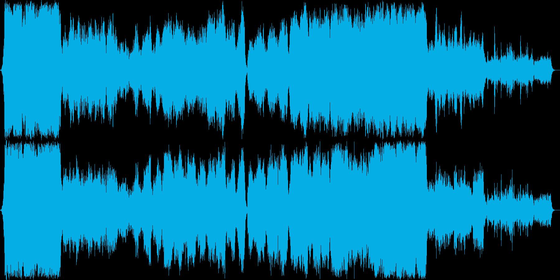 壮大な宇宙をテーマにしたクラシック音楽の再生済みの波形