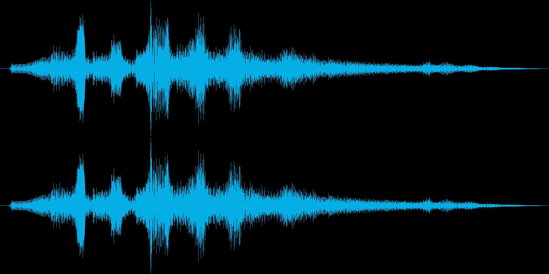 ワンワンワンワ~ン(回想シーン等)の再生済みの波形