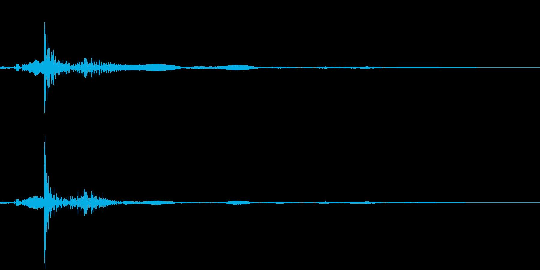 きゅうすのふたを開けるの再生済みの波形