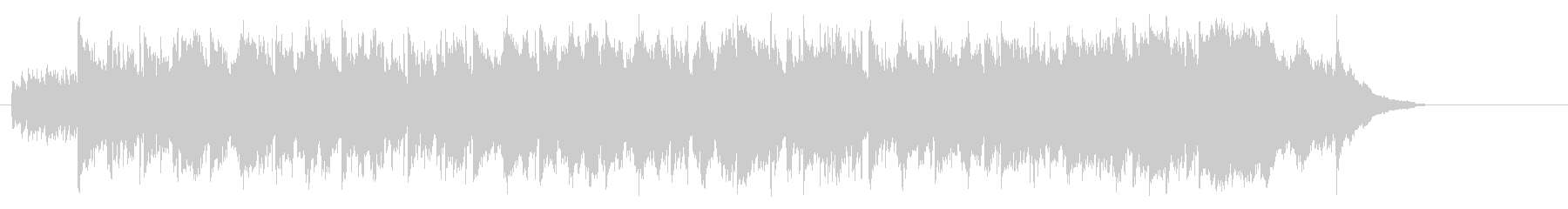 優しいアコースティック(イントロ~A…)の未再生の波形