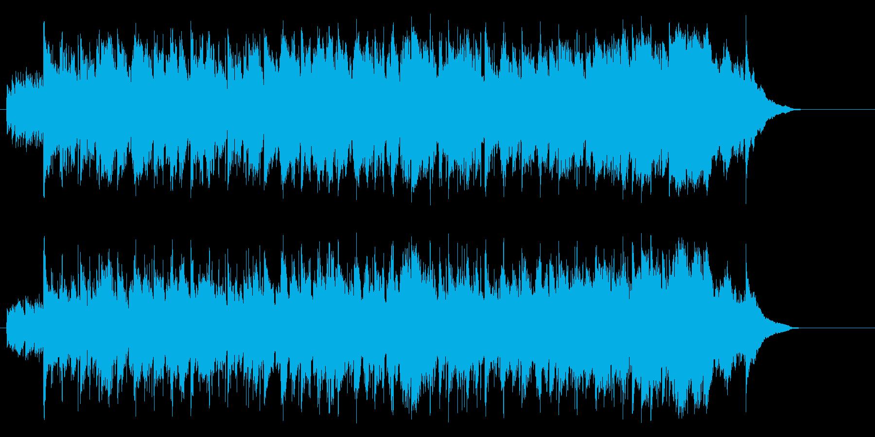 優しいアコースティック(イントロ~A…)の再生済みの波形