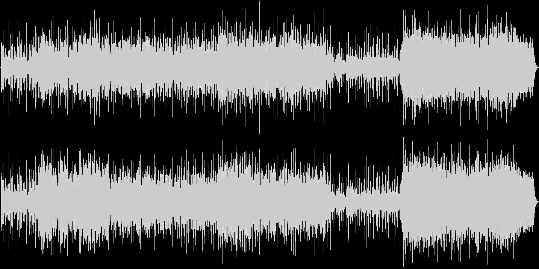 クリスマスソング~ポップスオーケストラ風の未再生の波形