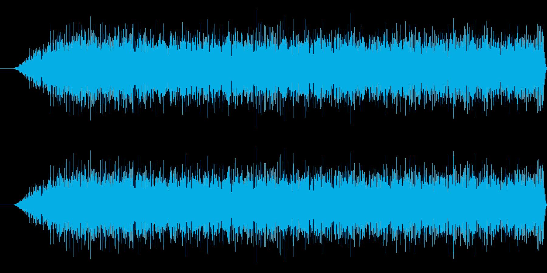 クルーザーの再生済みの波形
