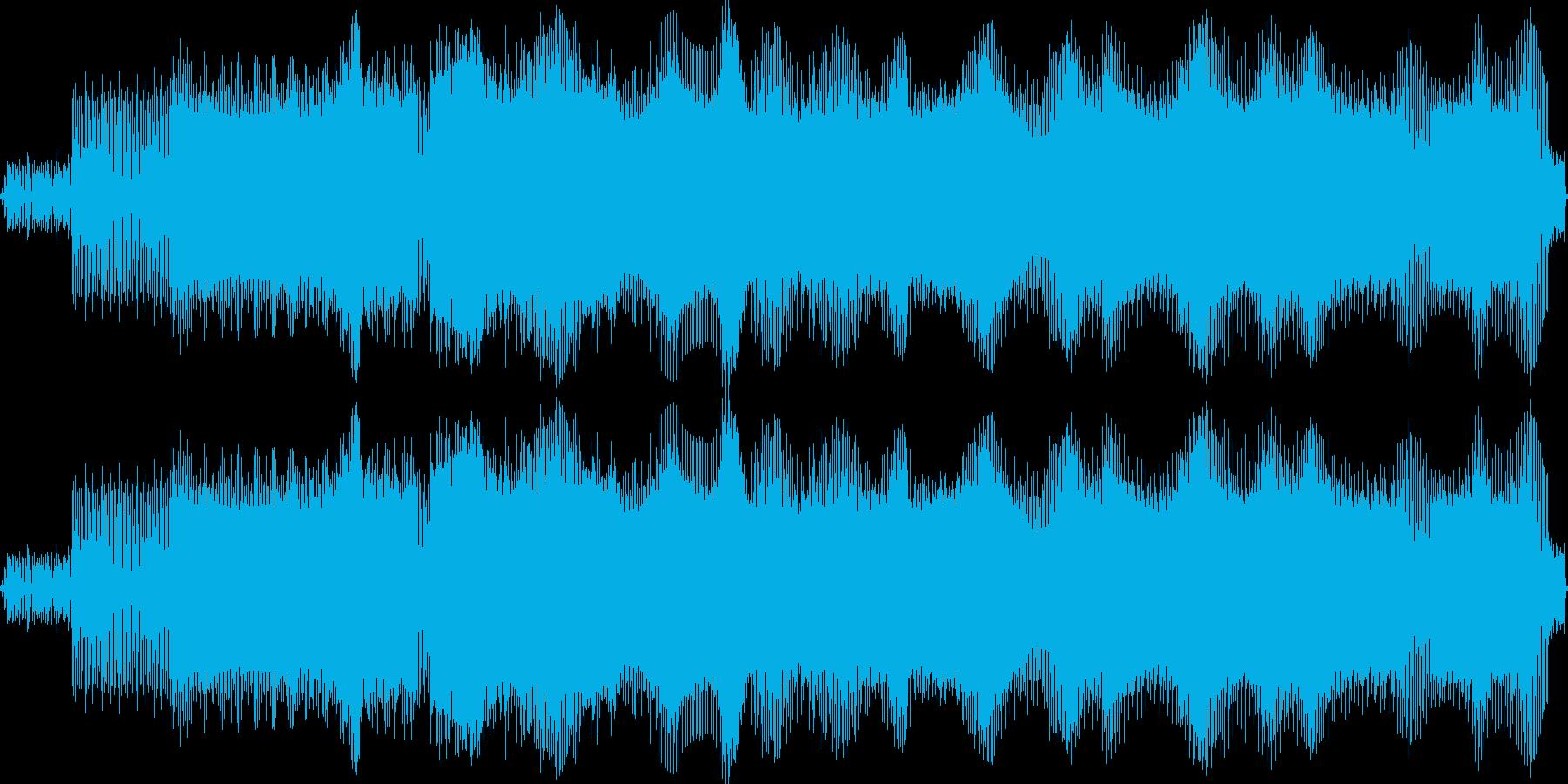 EDM かっこいいです!!!  の再生済みの波形