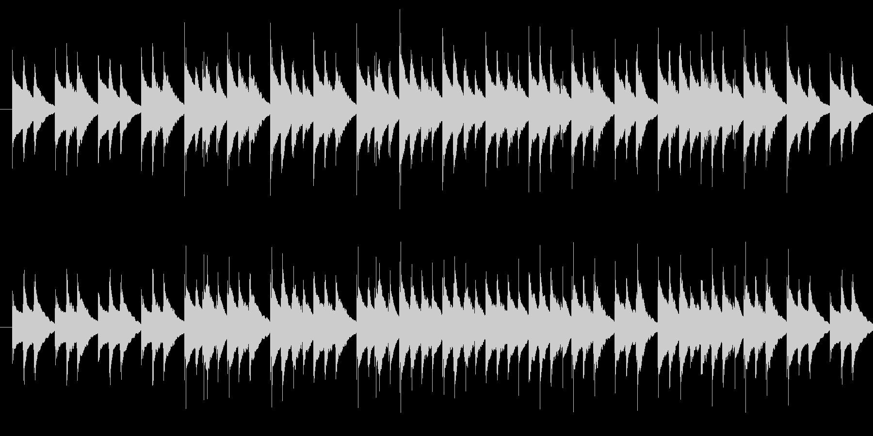 ほのぼの軽快ファンタジー風オルゴールの未再生の波形