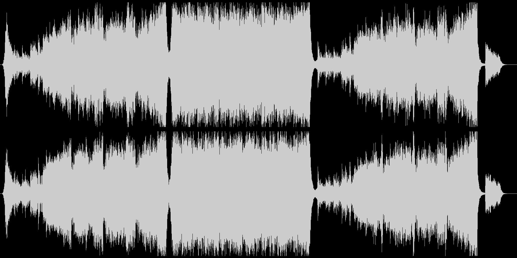 エンディング感のあるトランペットエピックの未再生の波形