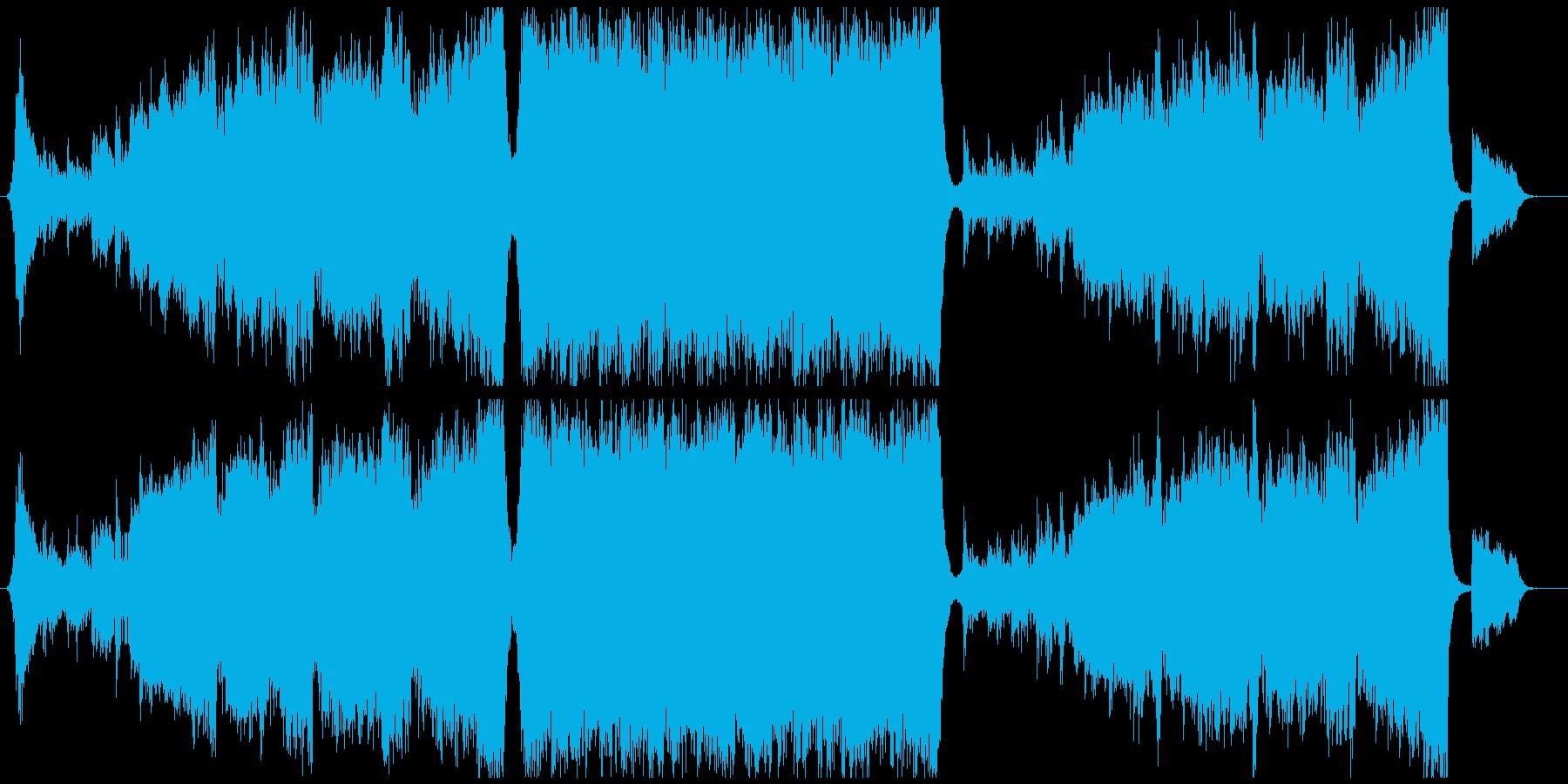 エンディング感のあるトランペットエピックの再生済みの波形